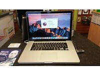 Apple Macbook Pro - i7, 8gb ram, 750gb hdd, warranty - Disking Renew