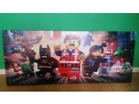 Lego movie canvas