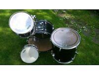 Premier Olympic Drum Kit 6195-S (drums only no hardware)