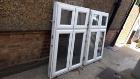 **UPVC**DOUBLE GLAZED WINDOWS**£69 EACH**2 AVAILABLE**NO OFFERS**GOOD CONDITION**
