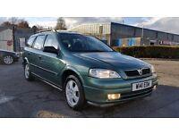 2000 (W Reg) Vauxhall Astra 1.8 CDX Estate FOR £450, 12 Months Mot on Sale & 3 MONTHS WARRANTY