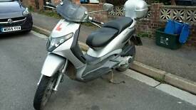 Piaggio B125 Moped Scooter. 2003. MOT. Low mileage