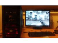 Powerful gaming PC 8 x 4GHz GF GTX 770 4GB VRAM 16GB RAM 240GB SSD + 2TB HDD BLURAY W10