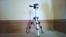 Kenlock 2000 SQ Mini Metal Extendable Tripod for camera & lighting SLR DSLR