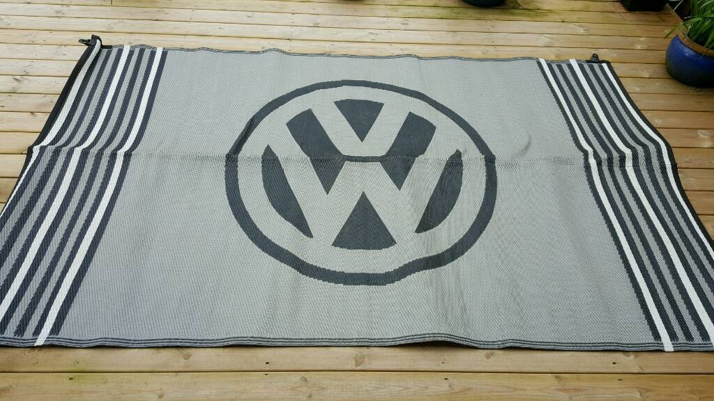 Vw Campervan Reversible Outdoor Mat In Fforestfach