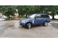 For sale Range Rover Vogue 3.0 diesel 54 plate 22 inch alloy wheels