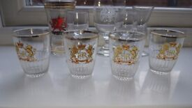 A selection of old glasses