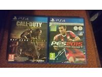PS4 GAMES / 2 GAMES FOR £20 POUND NEED GONE