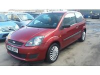 FORD FIESTA 1.2, 56 REG 2007, LONG MOT & 3 MONTHS PLATINUM WARRANTY