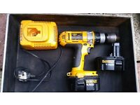 Dewalt drill for sale, 14.4v 2.0 ah
