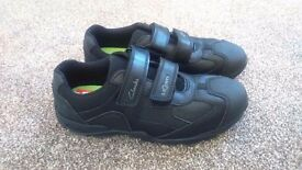 Clarks boys school shoes, size 2F, brand new, unworn