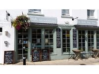Experienced waiting staff required for busy Deli & Restaurant in Central Romsey