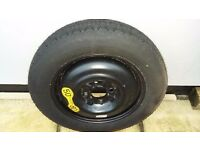 SPACESAVER SPARE TYRE.