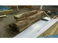 Oak sleepers