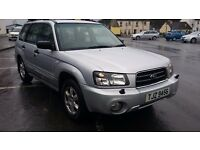 LOOK***SUBARU FORESTER X ALL WEATHER 4X4 ESTATE CAR****LOOK