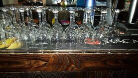Wine glasses, Tankards & Pint glasses