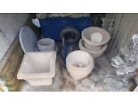 Heavy plant pots brand new