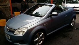 Vauxhall Tigra Convertible. 57 plate. Drives well. 2 female owners. 99666 mileage.