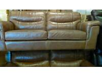 Brown Dayson 3+3 Seater Sofa