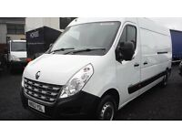 2014 Renault Master with 51,937 miles fully ply lined in very good condition inside and out .