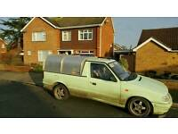 Skoda felicia pickup / vw caddy mk2 Ifor williams back
