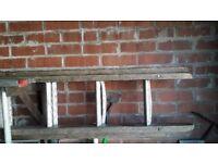 Wood alloy ladders