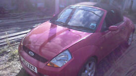 breaking ford street ka streetka bright red all parts available