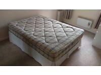 Double Divan Bed (Base & Mattress)