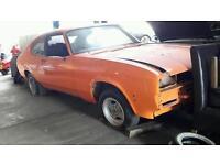 Ford capri 3ltr ghia rolling shell, 1980 W reg