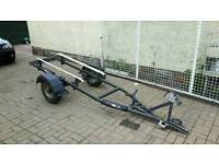 Jet ski dinghy rib trailer
