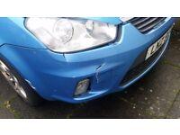 Ford c-max zetec damaged