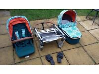 Pram System (Carrycot and stroller)