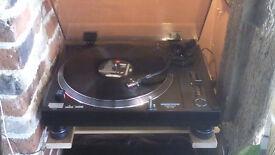 Omnitronic-BD-1100 DJ- HI-FI T/Table 'Superb' NEW Stylus/Belt + LP's