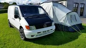 Mercedes Vito camper/day van