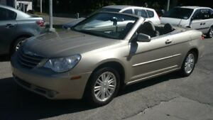 2008 Chrysler Sebring  Touring,,convertible,radio gps,pneus et f
