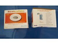 Si Lite Revolution MR16 & GU/GZ10 Aluminium Shower Light