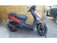 KYMCO AGILITY 50CC UNRESTRICTED - VERY LOW MILEAGE