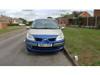renault grand scenic 1.6 gold 07 plate