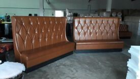 sofa bench, restaurant furniture