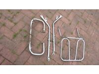 Honda CB 250 RS carrier rack engine bars