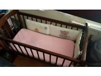 Baby crib cot
