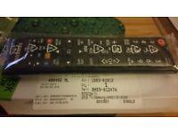 Genuine Samsung tv remote uk6500