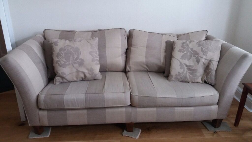 Furniture Village Gillingham for sale: furniture village sofa and armchair creams/ beiges | in