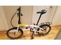 Tern folding bike like Brompton dahon carrera