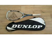 Dunlop squash racket / racquet