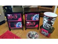Monster High Bedroom Set