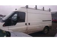 2004 FORD TRANSIT 350 MWB TD, 2.4 DIESEL, BREAKING FOR PARTS ONLY, POSTAGE AVAILABLE NATIONWIDE