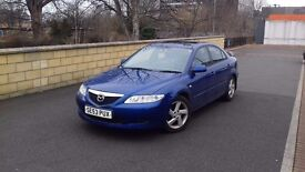 ***Very Rear Model MAZDA 6 TS2 Top Spec *** Full Leather Interior ,Sunroof, Very Good MPG 40 +