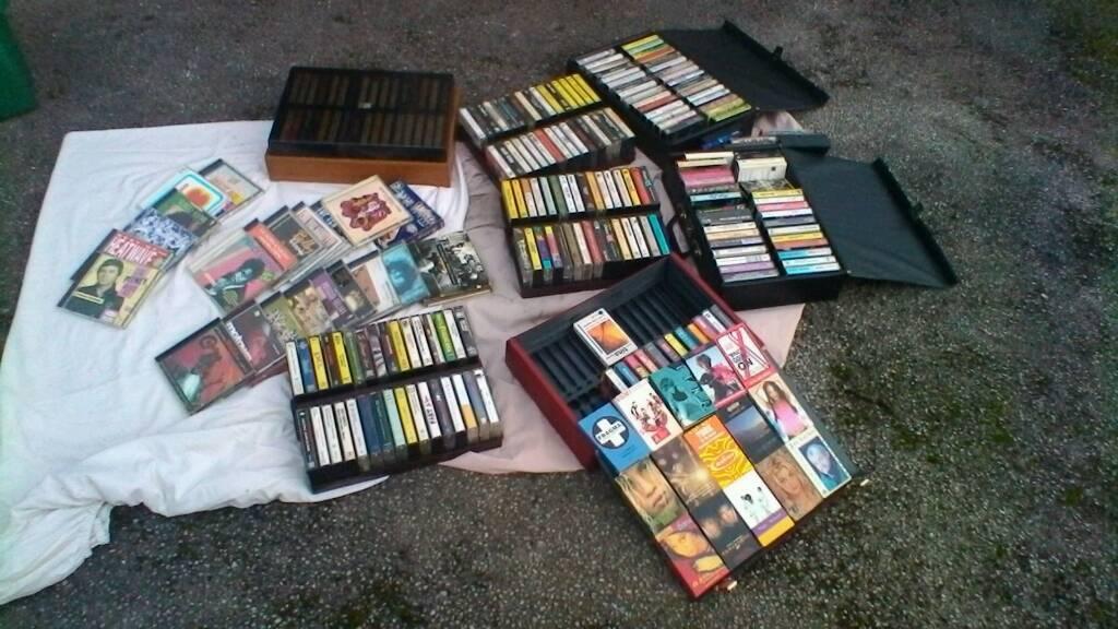 Cassette vintage 60s onwards collection