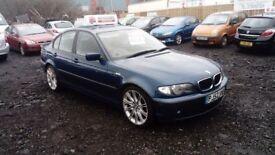 2002 52 BMW 320d SE FULL MOT GREAT DRIVER CHEAP CAR £695